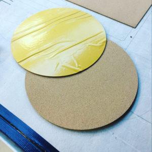 CNC Schneiden Korkplatten selbstklebend