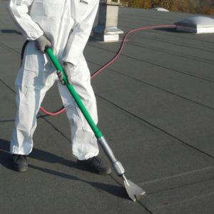 Burmak AG Dachsanierung Geräte Schälgerät Scrap Air Mietgeräte