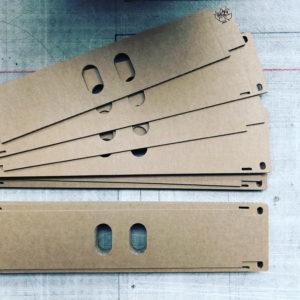CNC Schneidplotten Karton Schablonen