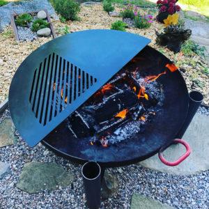 Burmak AG Wasserstrahlschneiden Grillauflage Grillplatte Feuerschale