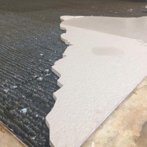 Wasserstrahlschneiden Keramikplatten Badezimmer Wandplatten
