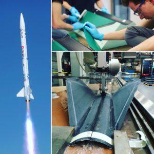 Burmak AG Wasserstrahlschneiden Raketenteile Aris