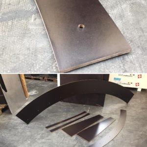 Wasserstrahlschneiden Zürich Siebdruckplatten