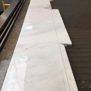 Wasserstrahlschneiden Marmor Steinplatte Steinbearbeitung