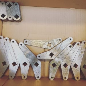 Wasserstrahlschneiden Werkzeugstahl Bauteile