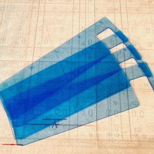 Burmak AG Wasserstrahlschneiden Plexiglas Eingreifschutz