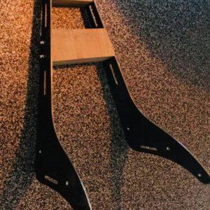 Sissybar Metall Motorradteil Wasserstrahlschneiden