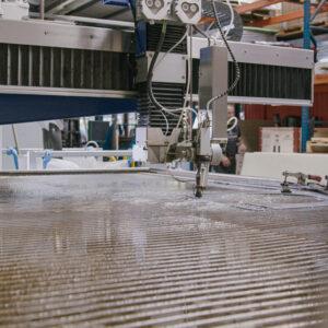 CNC Wasserstrahlmaschine Burmak AG