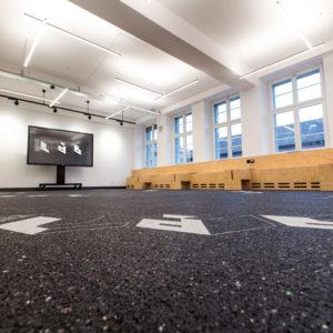 Schneiden Gummi Bodenbelag Interior Design