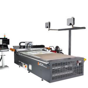 Schneidebetrieb CNC Flachbett Schneidplotter