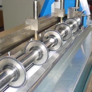 Schneidemaschine Kreismesser Balkenmesser Gummi Gummimatten schneiden