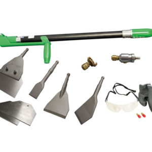 Dachsarnierungsgeräte Schälgerät Scrap Air Set