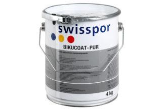 Flachdachbau Flüssigkunststoff swisspor Bikucoat 1 K und Zubehör