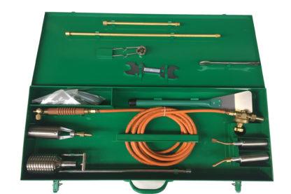 Flachdachbrenner BK Propan Brennerbox