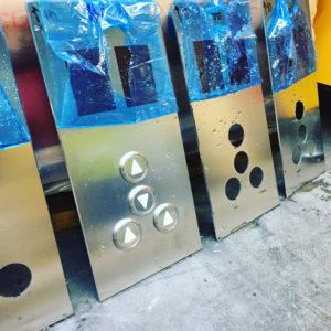 Burmak AG Wasserstrahlschneiden Aufzug Armaturen Aufzugstechnik