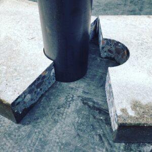 Burmak AG Wasserstrahlschneiden Stein Granit Terrassenplatten Gartenplatten