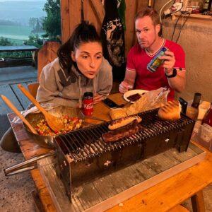 Burmak AG Wasserstrahlschneiden Tischgrill Picknick Grill Custom Made